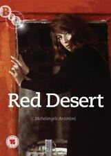 RED DESERT (1964) EROTIC ITALIAN MOVIE NEW DVD ENGLISH SUBTITLED + MINI BOOKLET
