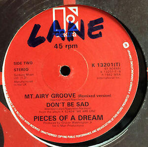 "Pieces Of A Dream Warm Weather 12"" UK 1982 Elektra K 13201 T Soul/Funk Rare"