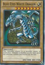 YU-GI-OH CARD: BLUE-EYES WHITE DRAGON - ULTRA RARE - SDBE-EN001