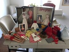 Vintage Barbie Case, Dolls, Clothes Tagged, Accessories