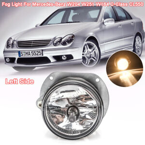 Front Left Driver Fog Light Lamp For Mercedes-Benz W204 W251 W164 C-Class CL550