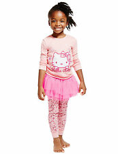 Marks and Spencer Girls' Pyjama Set Nightwear (2-16 Years)