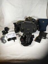 Nikon D5100 Camera With Cases 55-200mm & 18-55mm Lens Peak Design Strap