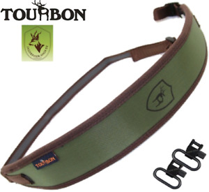 "Robuster Neopren-Gewehrriemen ""Tourbon"" Rutschfest Grün; Gewehrgurt, gun sling"