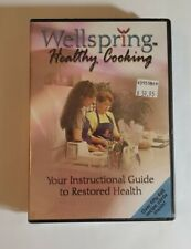 Wellspring Healthy Cooking DVD lot  with  Recipe Cards New Sealed