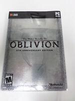 PC Elder Scrolls IV Oblivion 5th Anniversary Edition Collector SteelBook DENTED