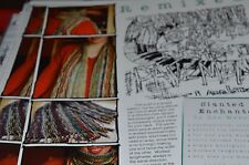 Knitting Pattern Lee Meredith Slanted & Enchanted Scarf great for leftovers!