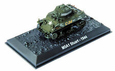 ALTAYA by AMERCOM 1/72 US M5A1 Stuart LIGHT TANK  ACBG36 PRE ASSEMBLED & PAINTED