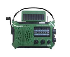 Katio KA500 AM FM SW Dynamo Solar Crank Emergency  NOAA Weather Radio Green