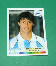 N°506 ALMEYDA ARGENTINE ARGENTINA PANINI FOOTBALL FRANCE 98 1998 COUPE MONDE WM