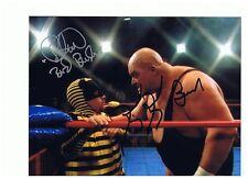 david faustino bud bundy king kong bundy dual autographed 8x10 photo