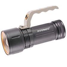 TORCIA LED RICARICABILE USB TATTICA MILITARE LUCE POTENTE CON ZOOM T6 8000 LUMEN