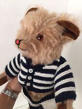 Steiff Teddy Bear Ours en Peluche Ancien Mohair Vintage Jouet French German 6