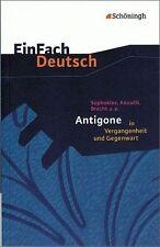 EinFach Deutsch Textausgaben von Sophokles (2005, Taschenbuch)