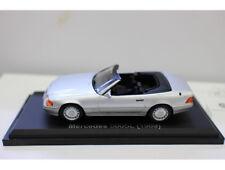1:43 Mercedes 500SL 1989 CONVERTIBLE  Diecast Car Model Toy 11CM