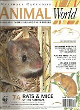 animal world magazine no.74 rats and mice of the americas