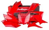 POLISPORT KIT PLASTICHE COMPLETE CROSS MX ROSSO HONDA CRF 450 R 2013-2014-2015