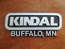 Kindal Buffalo Minnesota MN Car Dealer Plastic Emblem Badge Plate Auto