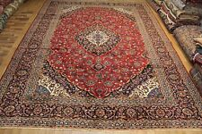 Old Hand Made Traditional Persian Kashan Carpet With Superb Colour 415 x 310 cm