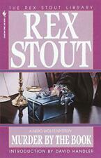 Murder by the Book (Rex Stout Library Bantam Crime Line Book) by Stout, Rex, NEW