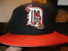 New W/Tag Orig 90's DETROIT TIGERS Road Hat Size 7 1/8 New Era 5950 Dead Stock