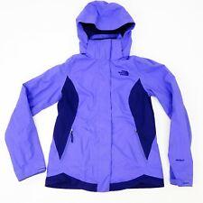 The North Face Womens Sz XS Purple Hyvent Hooded Windproof Jacket Rain Coat