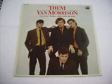 THEM - THEM FEAT. VAN MORRISON - REISSUE LP VINYL EXCELLENT CONDITION 1982