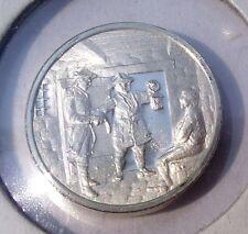 1953 Health Education and Welfare Franklin Mint Sterling Silver Mini-Ingot