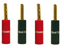FICHES BANANES BFA REAL CABLE BFA6020 (LOT DE 4)