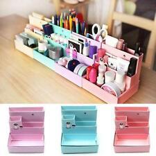 Stationery Makeup Desk Decor Organizer Paper Board Storage Box