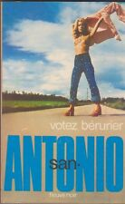 Frédéric Dard - San Antonio - Votez Bérurier