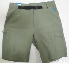 "Columbia Trail Breaker Shorts Mens Sizes 32 36 Commando Green 10"" Inseam"