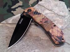 Couteau Tac Force A/O Outdoor Camo Lame Acier 440 Manche FRN TF764CA