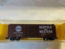 Atlas # 3403 40' ft box car Norfolk & Western # 205248 N Scale MIB