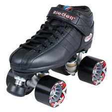 Riedell R3 roller skates | Size US MENS 8 | Includes Gumball Original toe stops