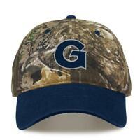 Georgetown University Hoyas Camo Hat Realtree Edge Camo Two-Tone Cap