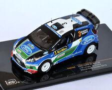IXO Ford Fiesta RS WRC #3 Anttila - Latvala Winner Rally Sweden 2012 RAM484 1/43