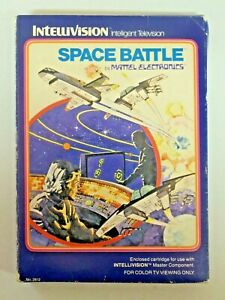Vintage INTELLIVISION SPACE BATTLE Video Game 1979 in Box