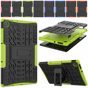 "For Lenovo Tab M10 HD 2nd Gen 10.1"" TB-X306F Heavy Duty Hybrid Rugged Stand Case"