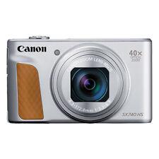 Canon PowerShot SX740 HS 20.3MP 4K Digital Camera 40x Optical Zoom Wi-Fi Silver