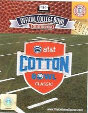 2013 AT&T Cotton Bowl Patch Oklahoma vs Texas A&M 100% Authentic NCAA Licensed