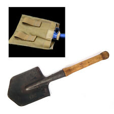 ORIGINAL RUSSIAN SOVIET USSR ARMY SOLDIER SAPPER SPADE MILITARY SHOVEL WITH CASE