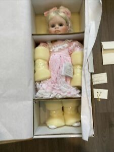 Marie Osmond Fine Porcelainpicture Day Liana  New In Box Never Used