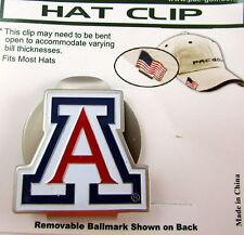 PAC Golf Hatclip w/ Ballmark Ball MarkBallmarker NCAA ARIZONA WILDCATS Blue