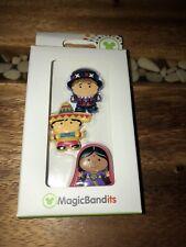 NIB Disney Magic Band Bandits Small World (French, Mexican, Indian Doll)