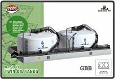 Model Power (N-Scale) #1569 TWIN OIL TANKS Kit - NIB