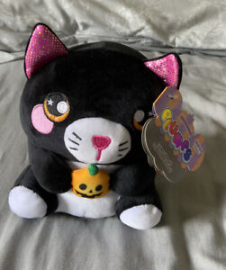 Halloween Cat Plush Teddy Toy