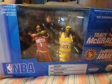 LeBron James Tracy McGrady Figure Box Set McFarlane Sports NBA Basketball 2005