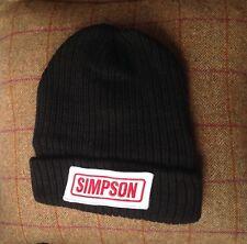 SIMPSON helmet pit crew / paddock hat / drag race / SIMPSON mechanics hat / stig