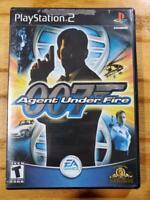 James Bond 007 Agent Under Fire - PlayStation 2 PS2